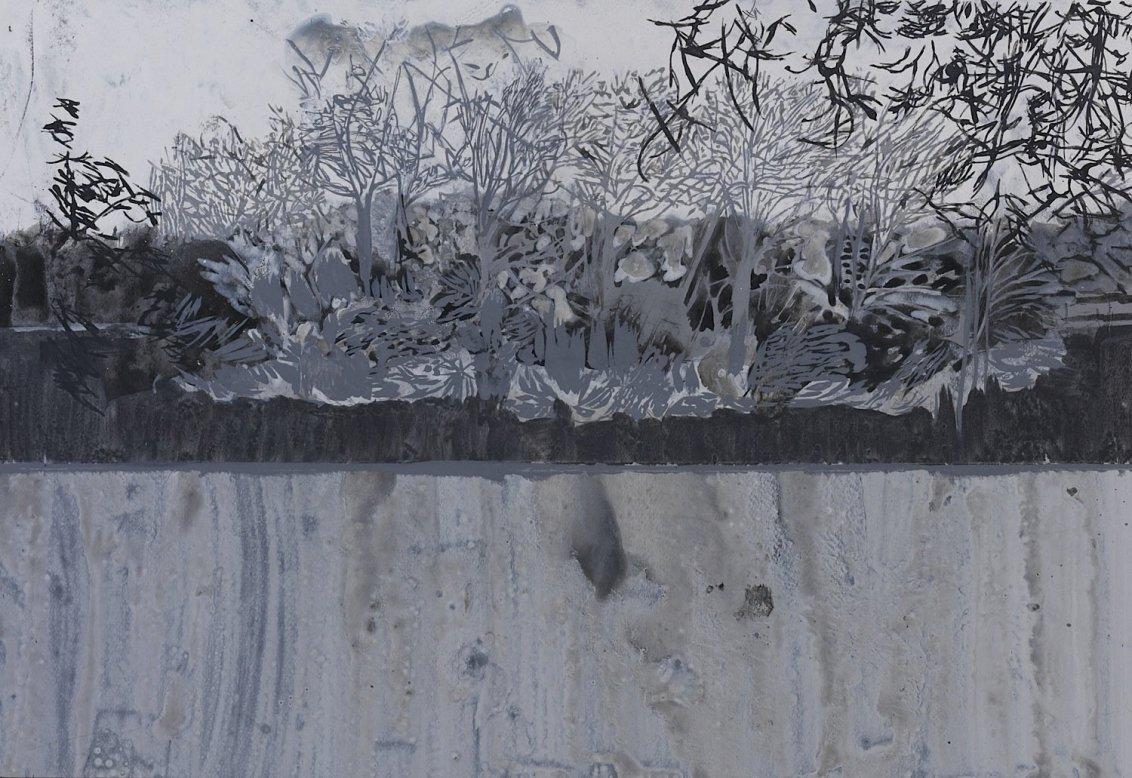 Lower Lake Drawing II, 2005
