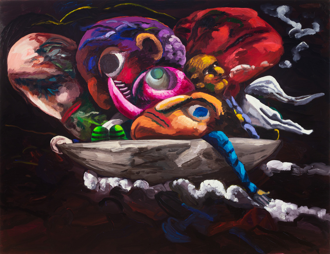 Dana Schutz: Shadow of a Cloud Moving Slowly