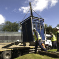 Relocating a Grade II listed Police Box