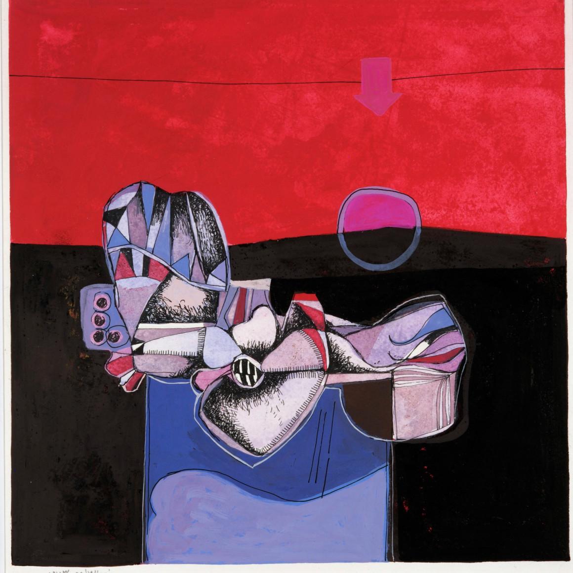 Dia al-Azzawi, Untitled, 1973
