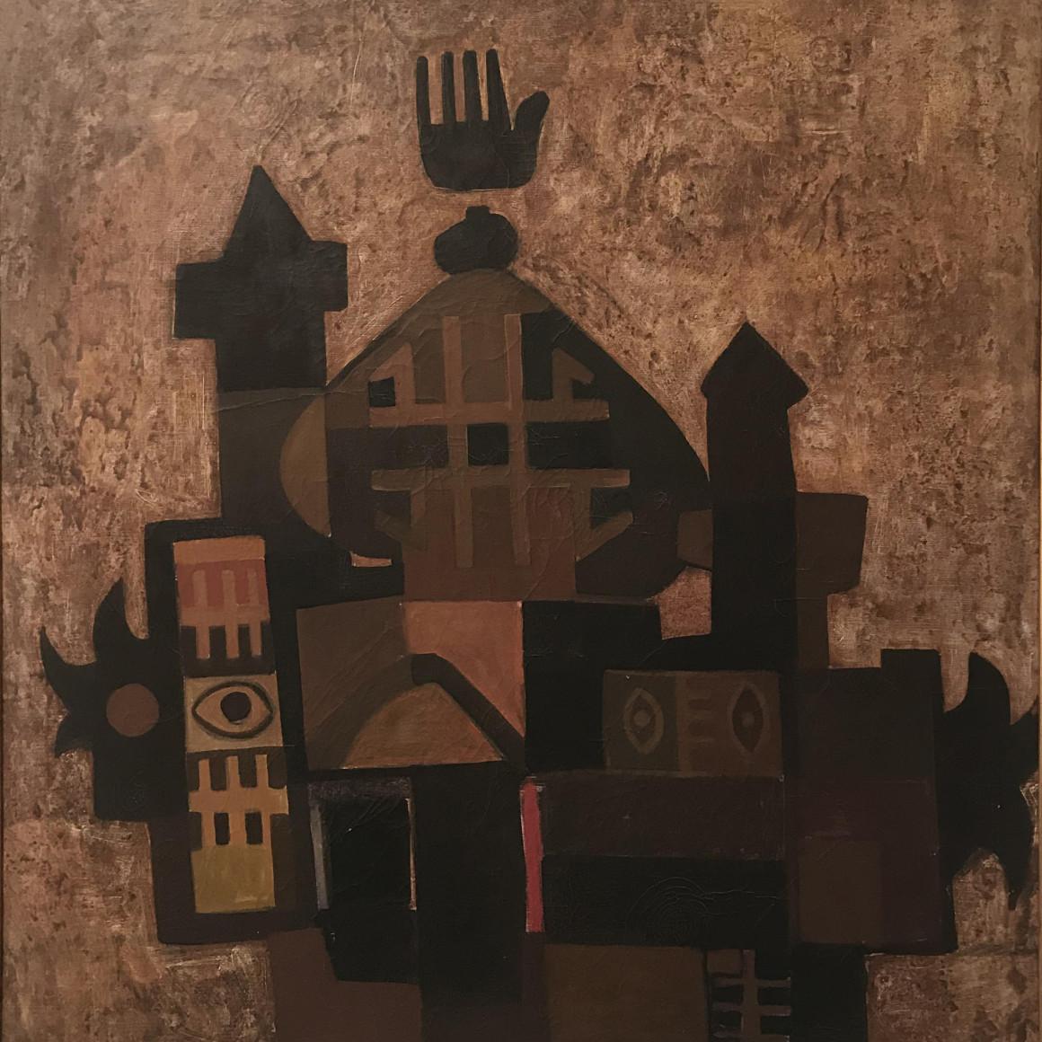 Dia al-Azzawi, Takween Islami (Islamic Composition), 1965