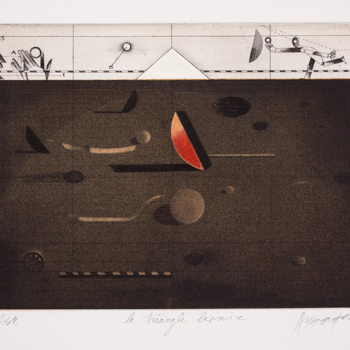 Assadour, Triangle lunaire , 1976