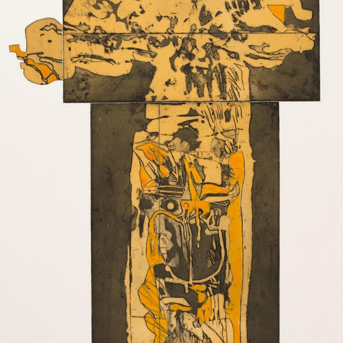 Dia al-Azzawi, Image No. 2, 1983