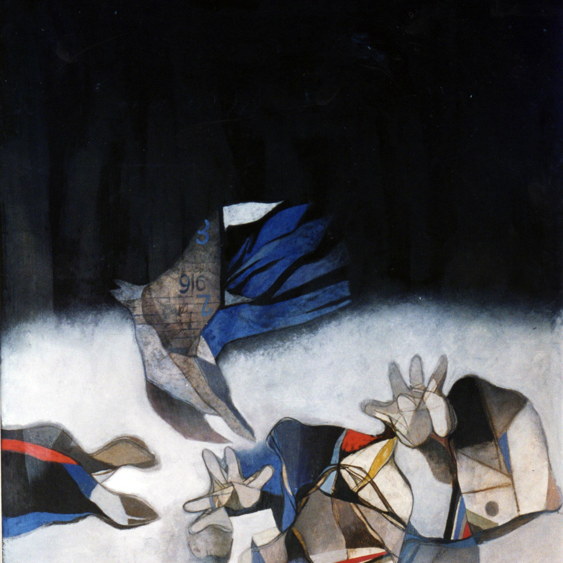 Dia al-Azzawi, The Guilty Memory , 1976