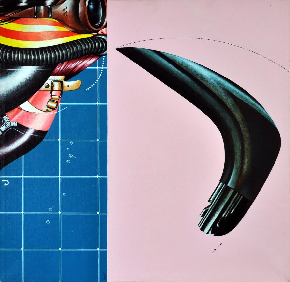Bagnante e boomerang