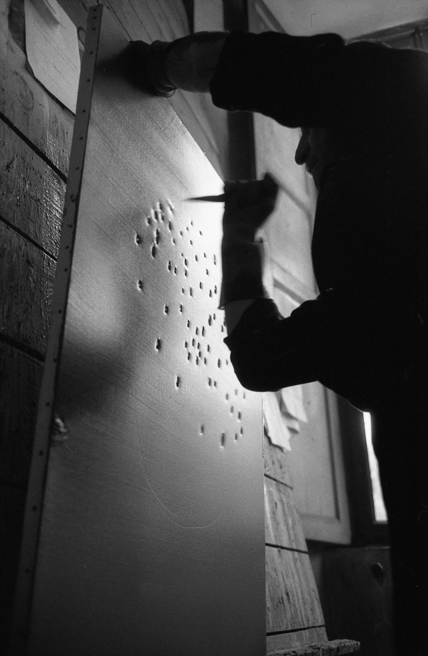 Lucio Fontana, Il Sole, Milano (4)