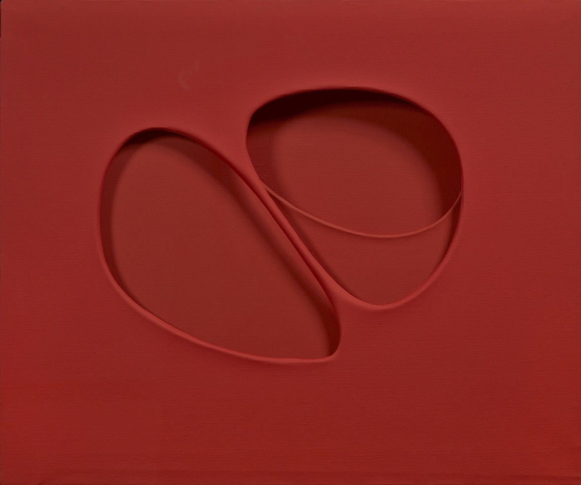Curved Intersurface from Red