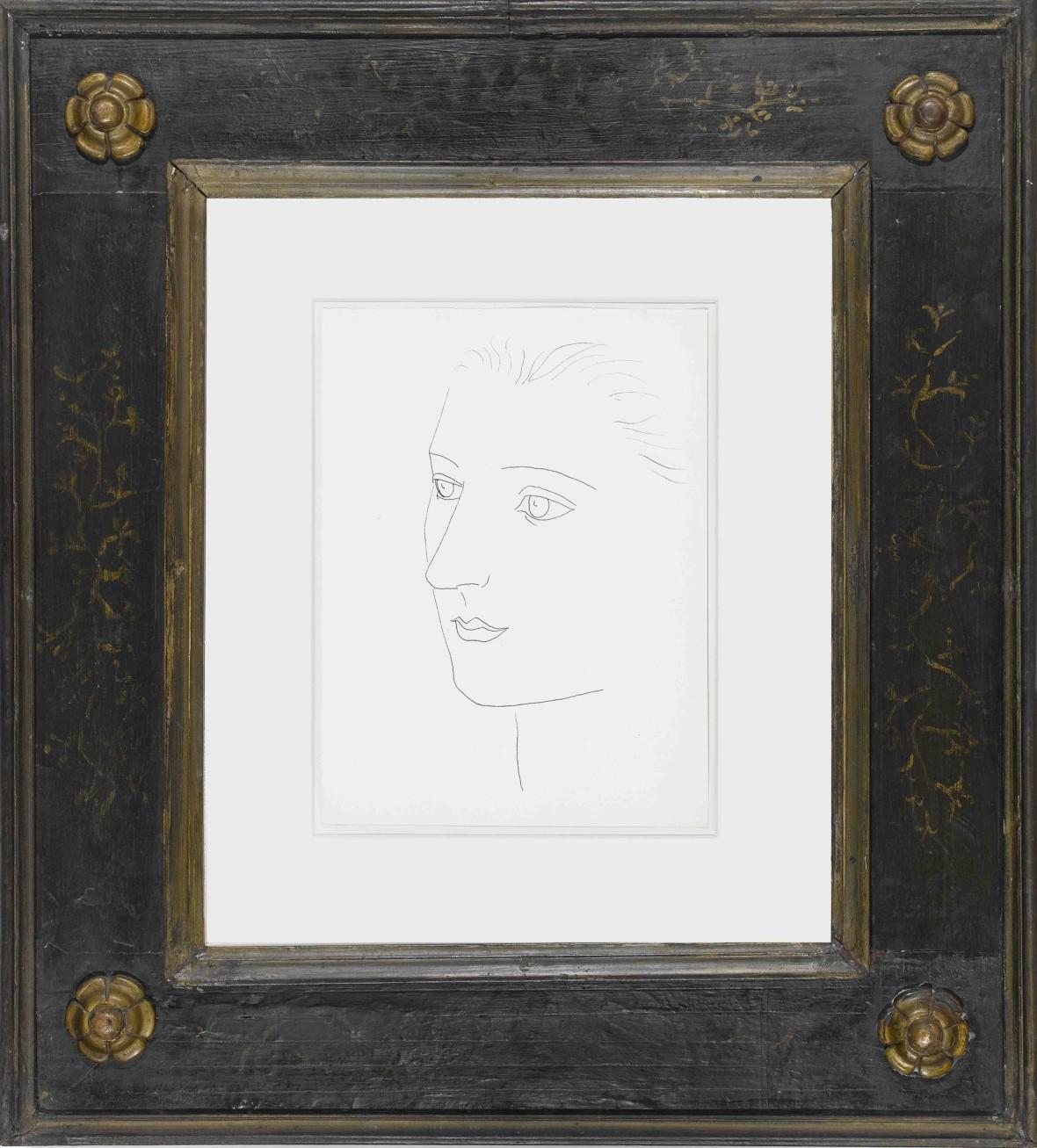 Head of a Woman (Sara Murphy)