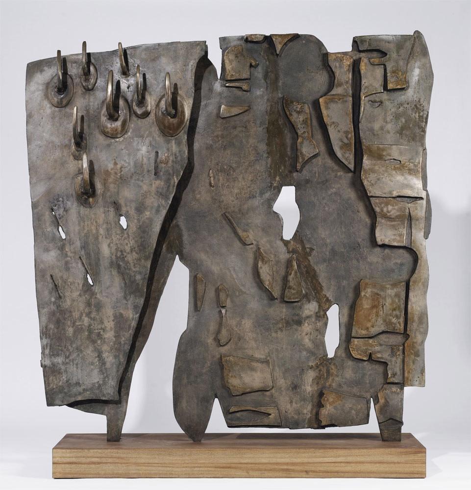 "<p><span class=""artist""><strong>Pietro Consagra</strong></span>, <i>Colloquio Impossibile,</i> 1959</p>"