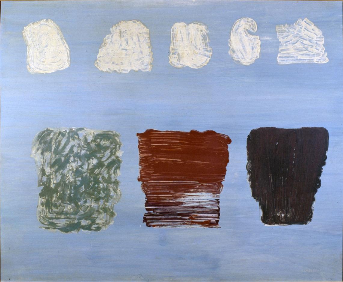 """<div class=""""artist""""><strong>Pietro Consagra,</strong><em>Fondo celeste (otto immagini)</em>, 1972</div>"""