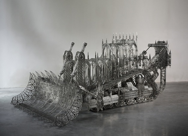 """<p><strong>Wim Delvoye,</strong><i style=""""line-height: 1.8em;"""">D11 Bulldozer, </i>2008<i style=""""line-height: 1.8em;""""></i></p>"""