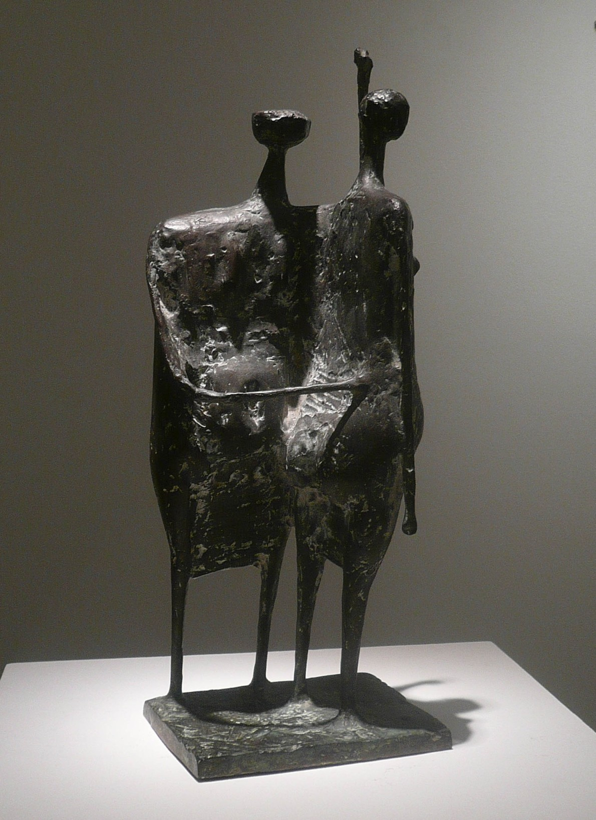 Kenneth Armitage, Two Standing Women, 1955