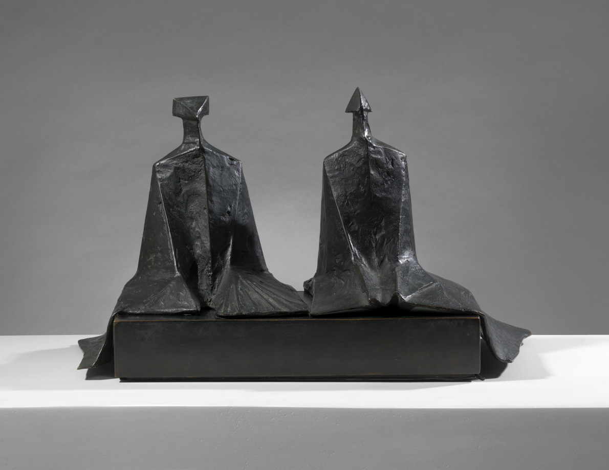 Sitting Figures in Robes I