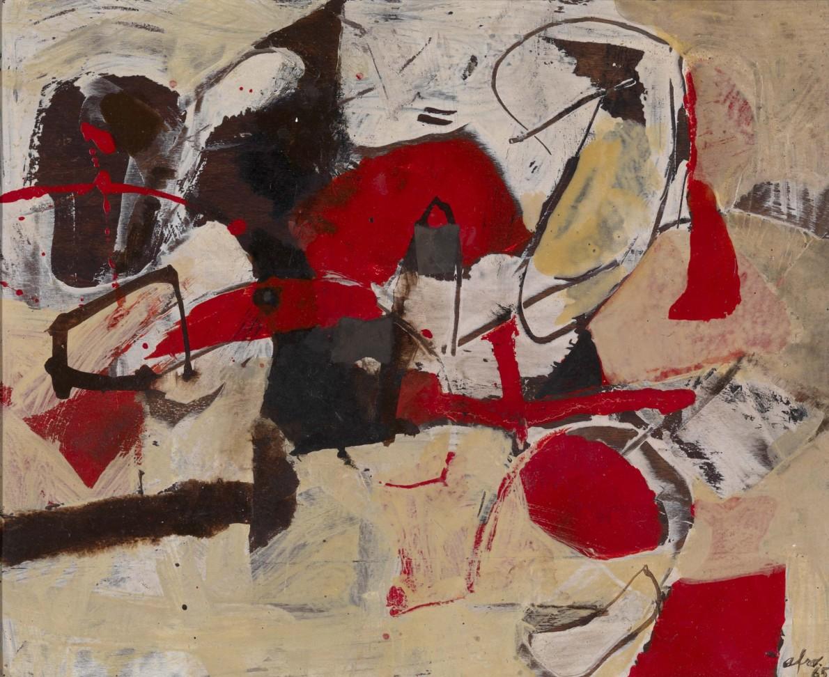 Afro Basaldella, Senza Titolo, 1965