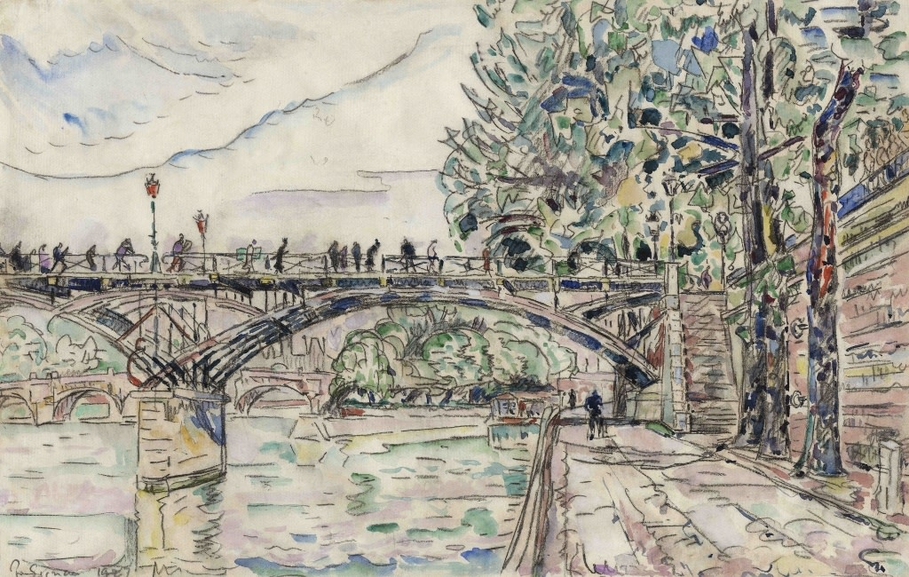 Paul Signac, Paris. Le Pont des Arts, 1927