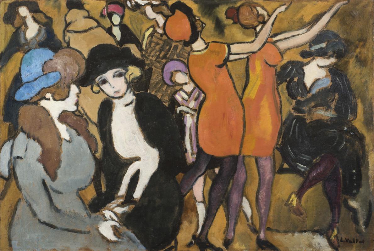 Louis Valtat, Les élégantes au salon, c.1918