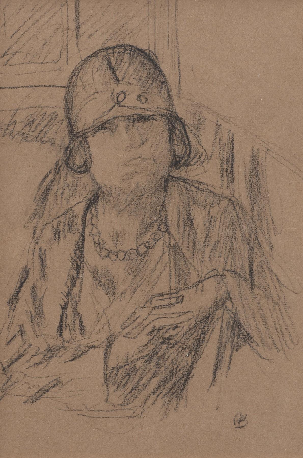 Pierre Bonnard, Femme au chapeau, c.1924
