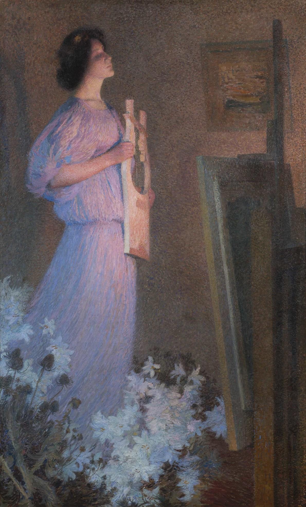 Henri Martin, La Muse du Peintre, c.1900