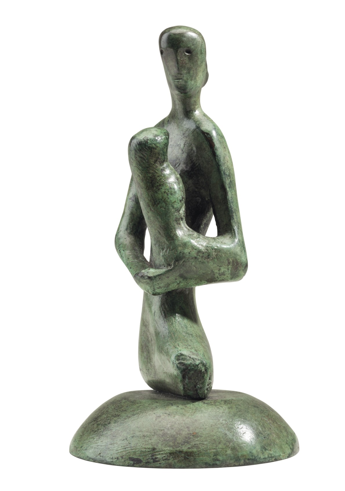 Henry Moore, Mother and Child: Gothic, 1975