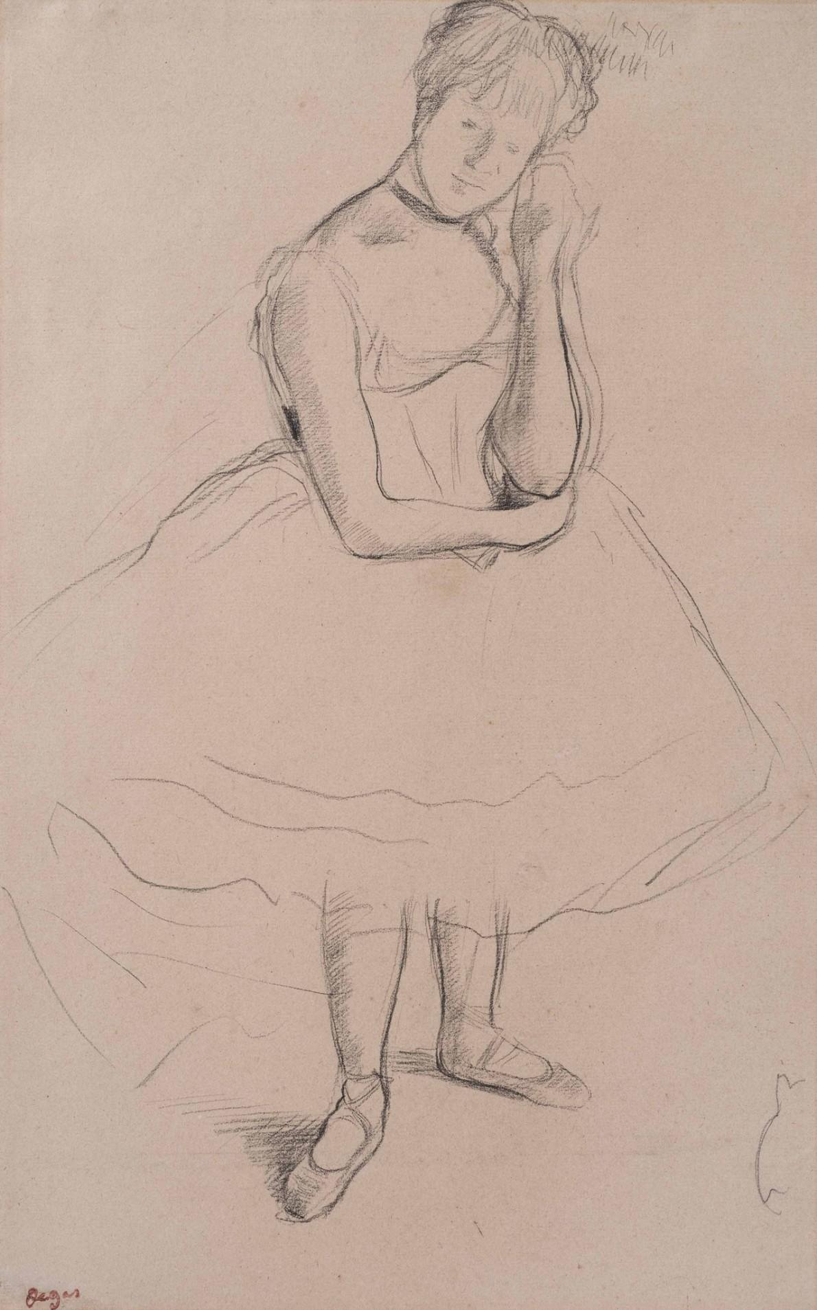 Edgar Degas, Danseuse, c.1875-1880