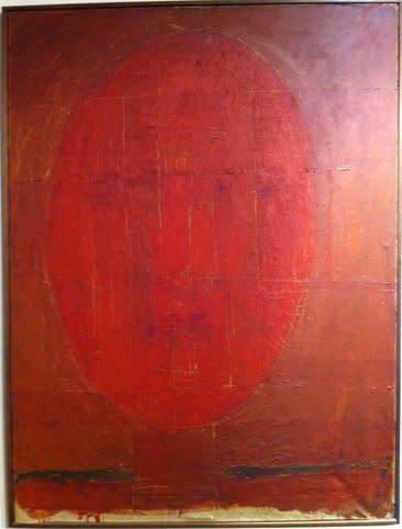 William Turnbull, Self-portrait, 1954-55