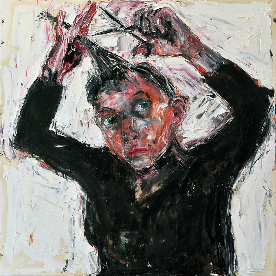 Shani Rhys James, Cutting my Hair, 2017