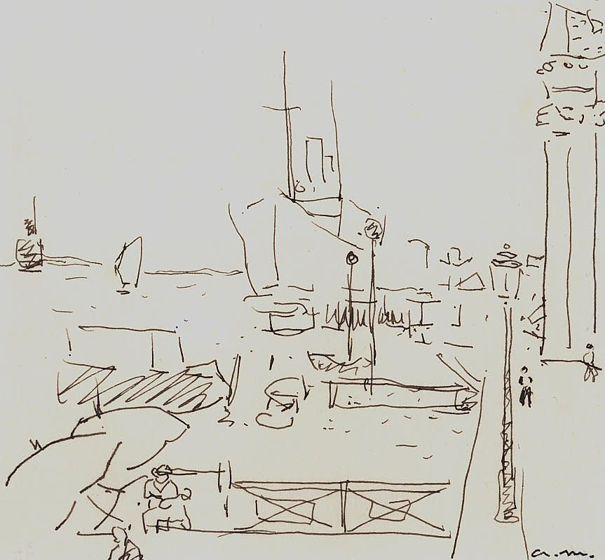 Albert Marquet, Le quai des Esclavons, 1936