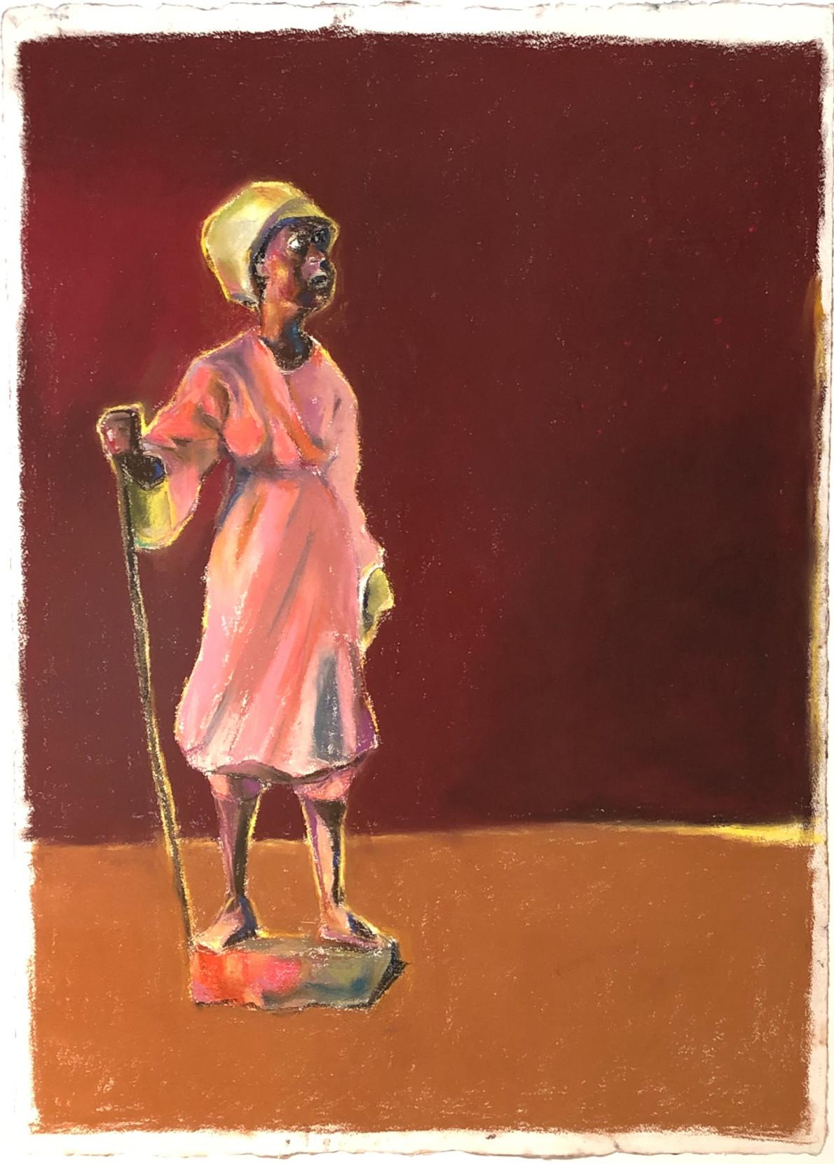 Paul Richards, Standing figure, still life, 2019