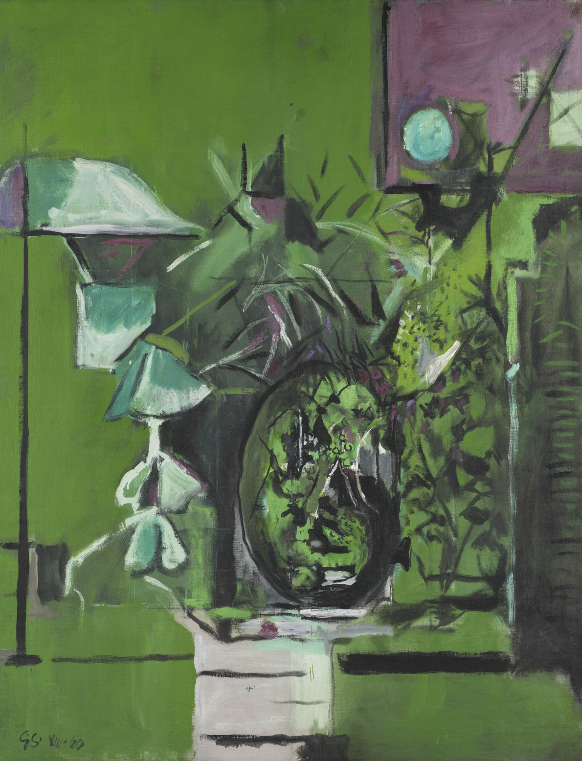 Graham Sutherland, Wood Interior, 1960-61