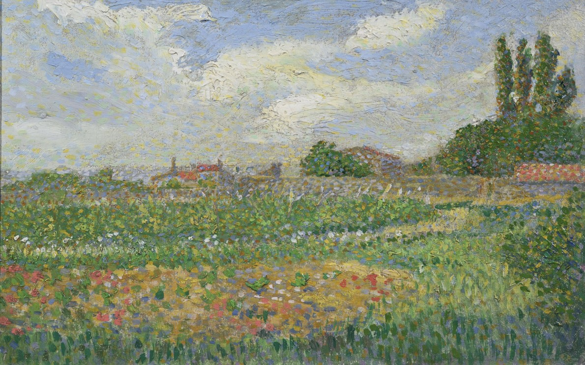 Leon Pourtau, Paysage, 1894
