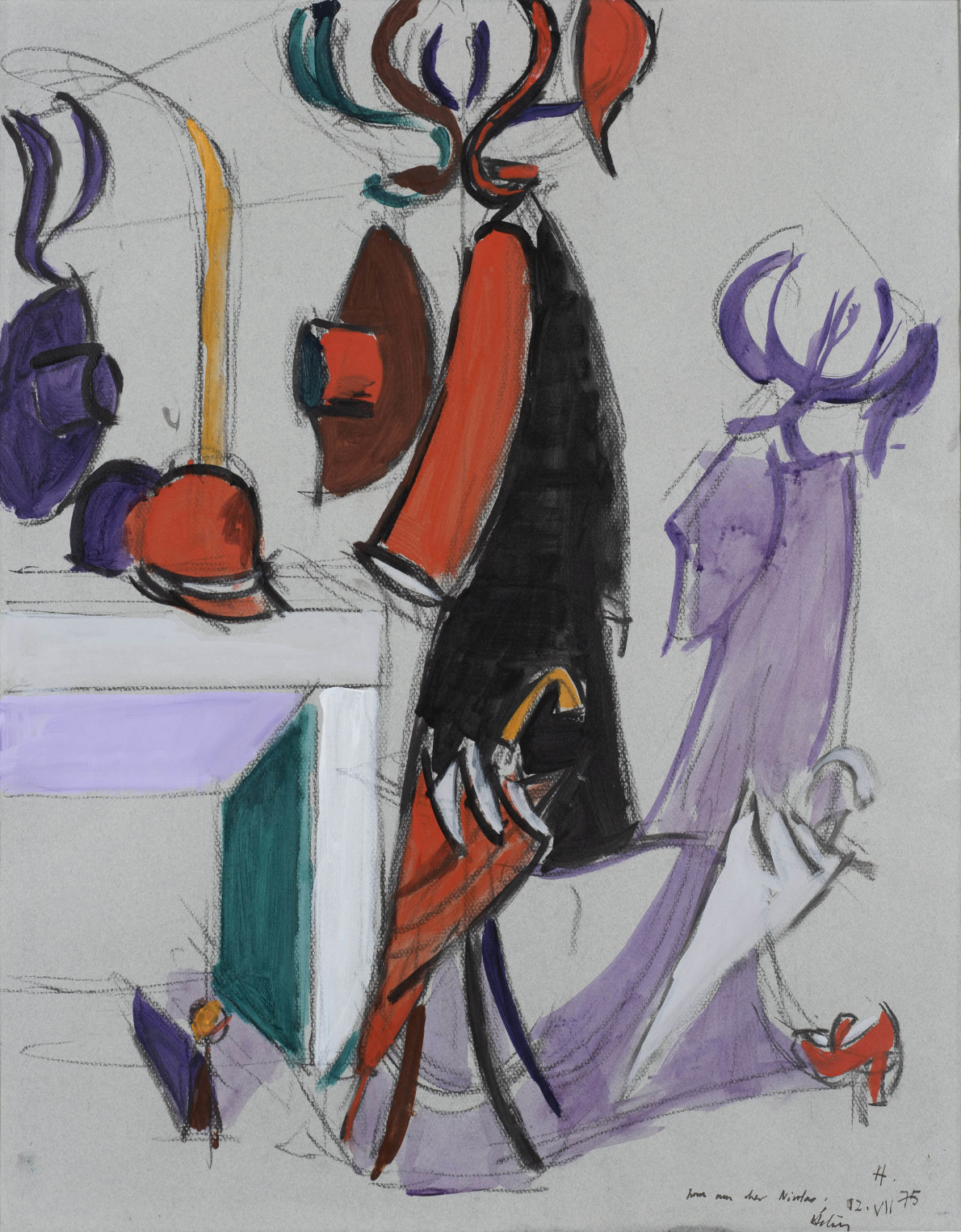 Perroquet au miroir