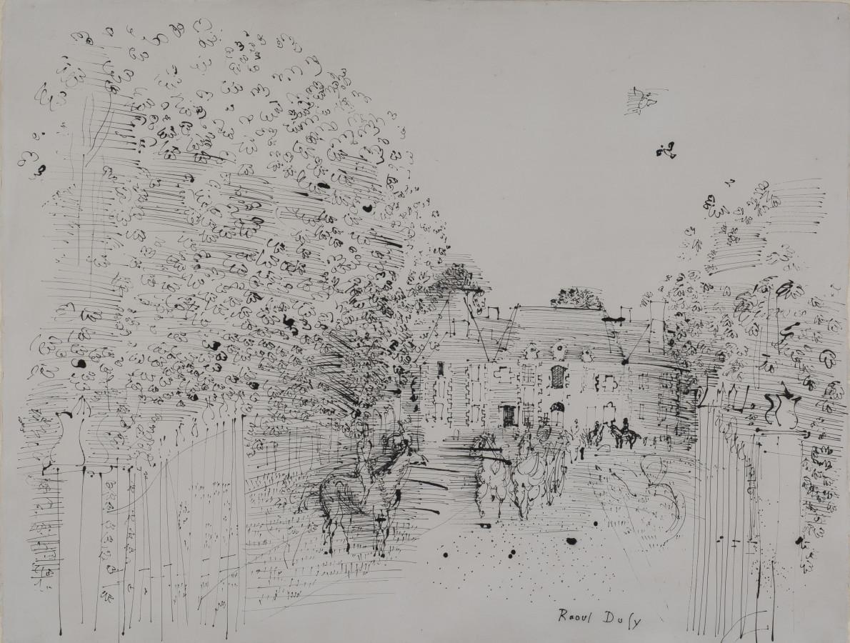 Raoul Dufy, Le Haras du Pin, 1930