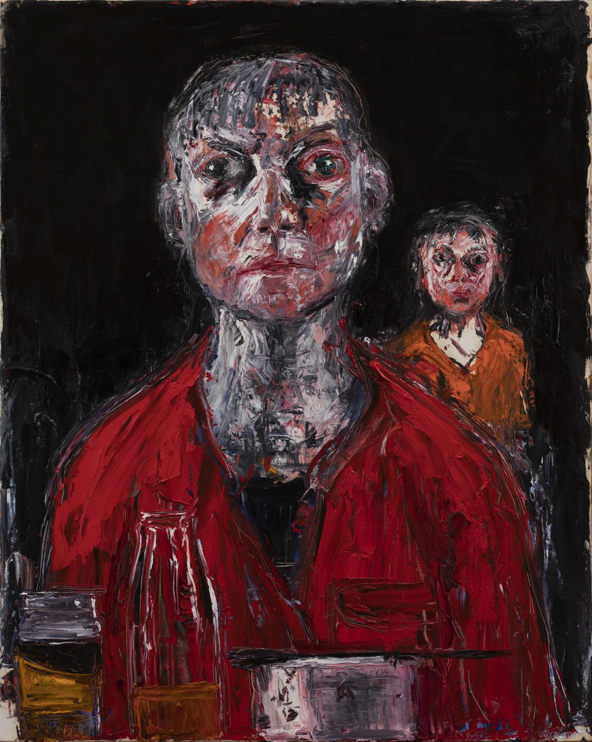 Shani Rhys James, Two Heads, 2020