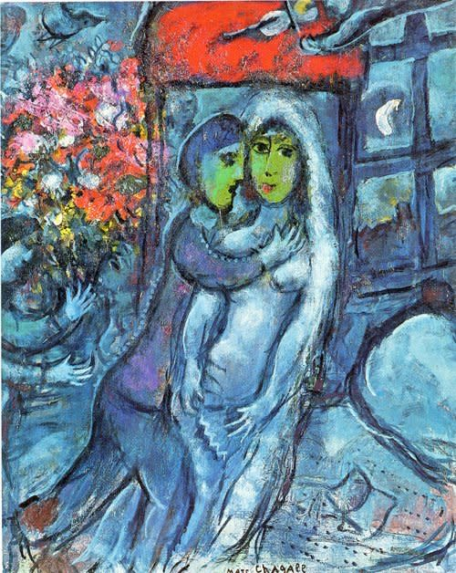 Chagall and Dufy - Harmonies Parallèles