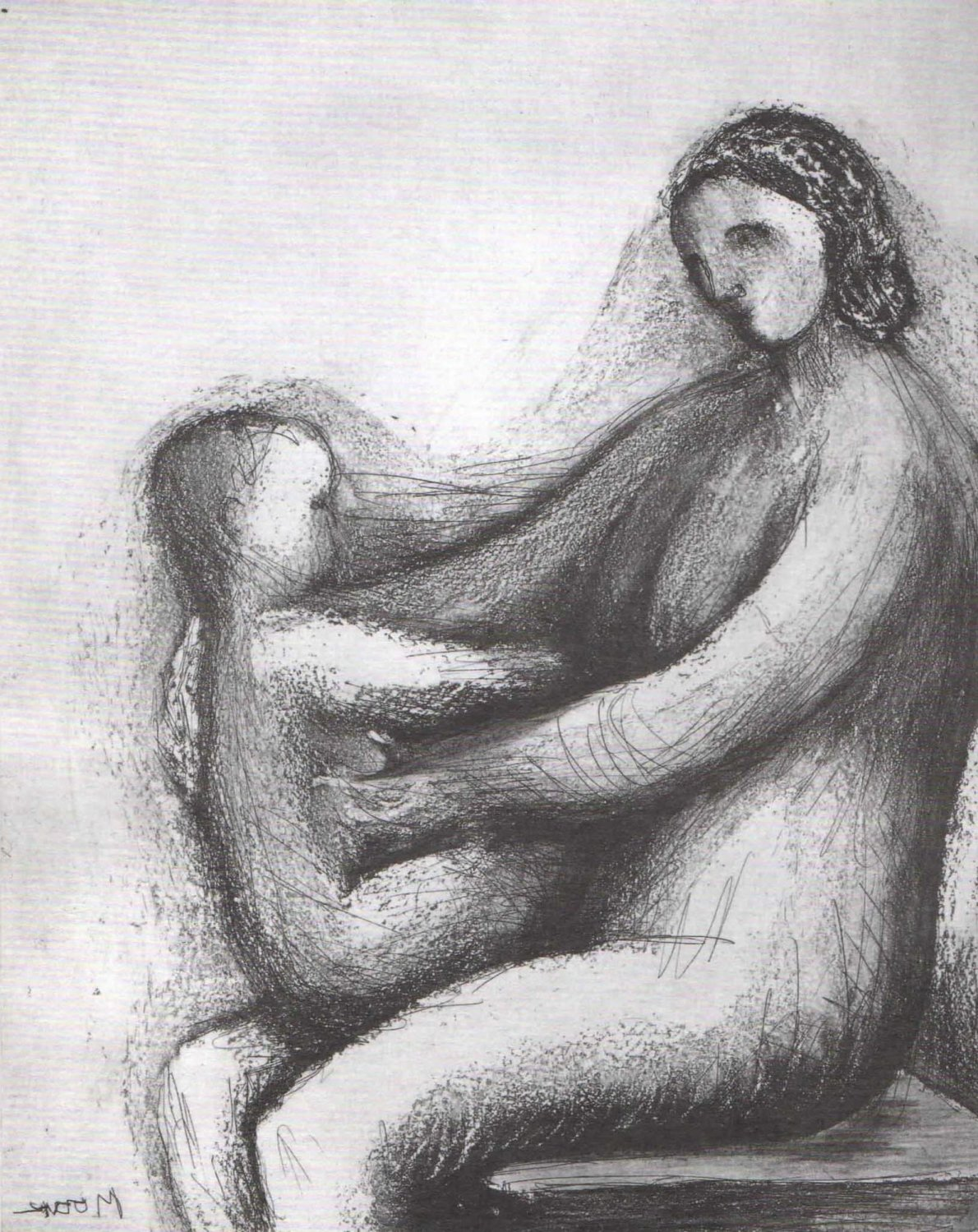 Henry Moore - Mother and Child Images