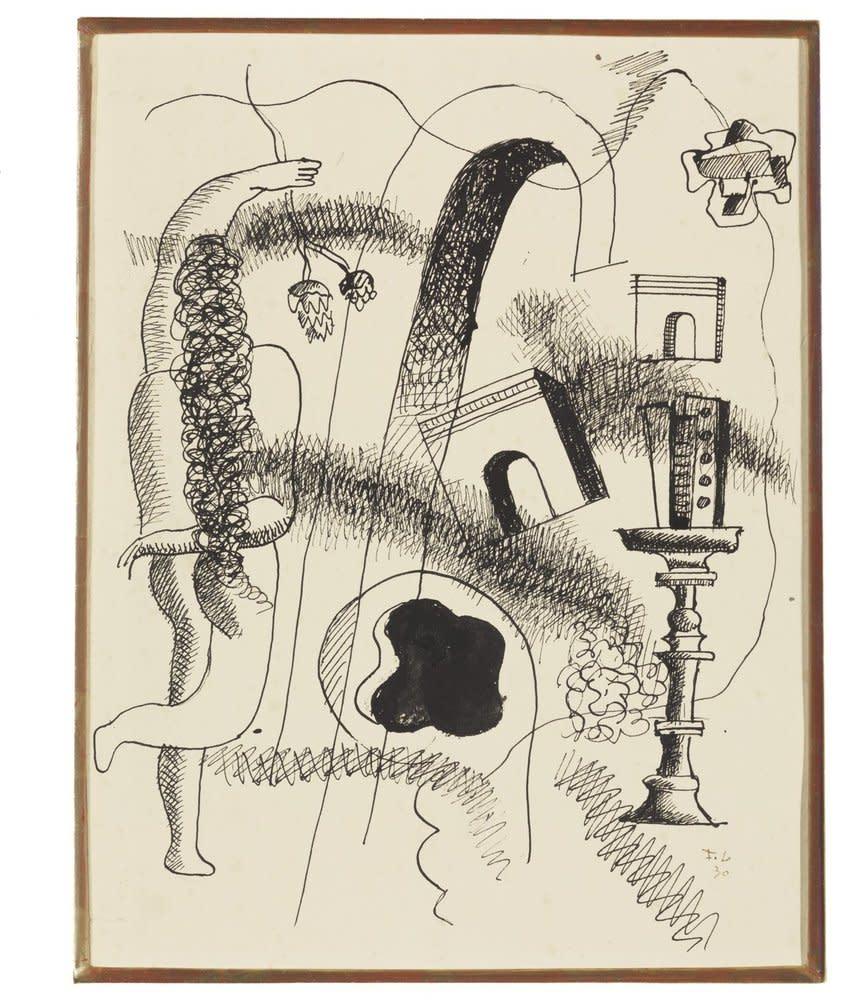 Fernand Léger, Composition, 1930