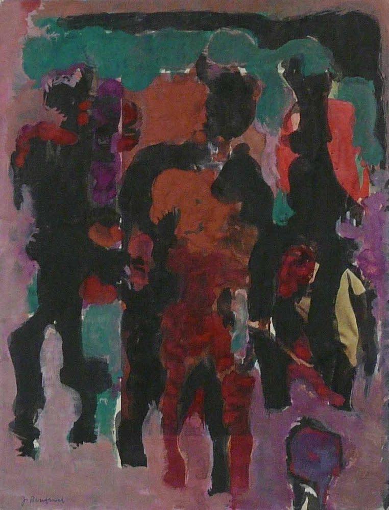 Jacob Bornfriend, Three Figures