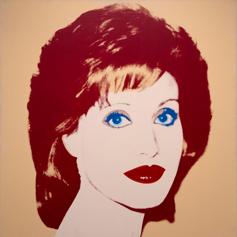 Andy Warhol, Lorna Luft, 1983