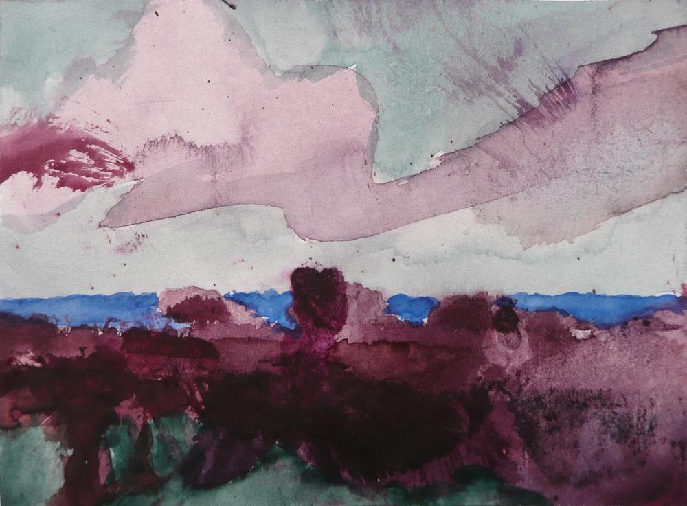 Herbert Beck, Violettes Wolkenband