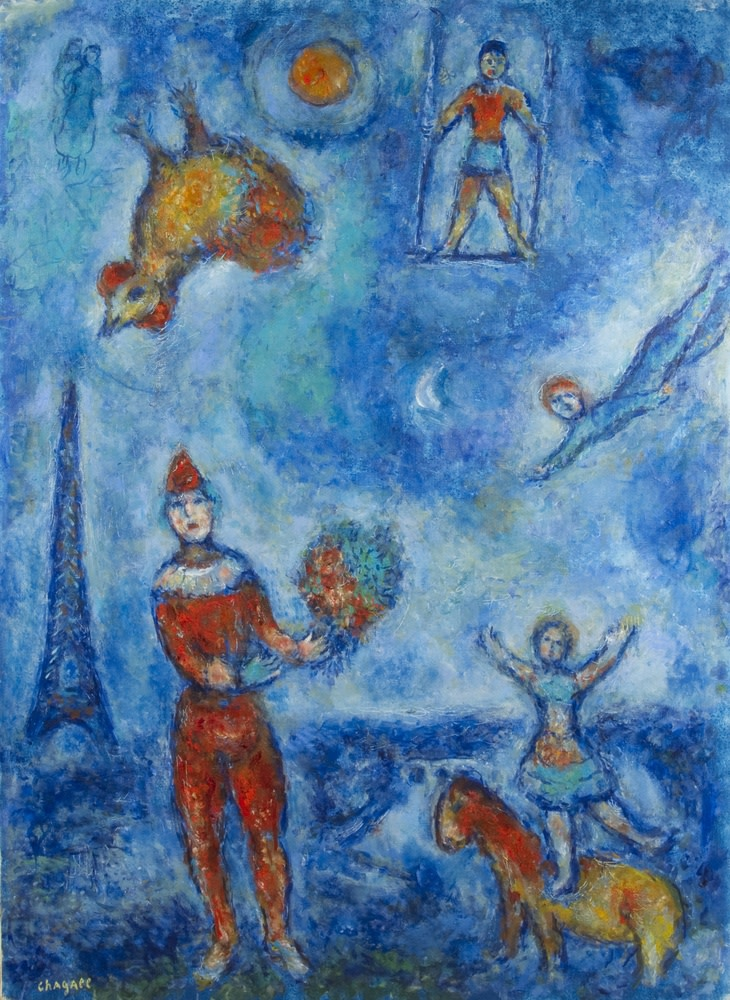 Marc Chagall, Les Gens Du Voyage, 1978