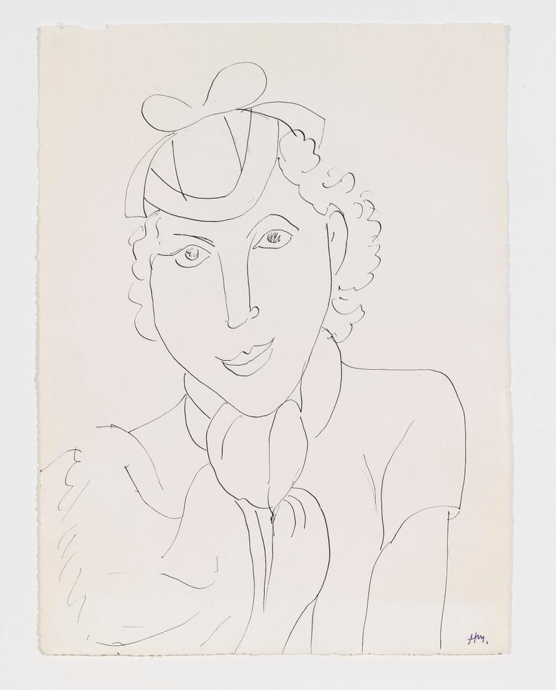 Henri Matisse, Femme au chapeau, 1936