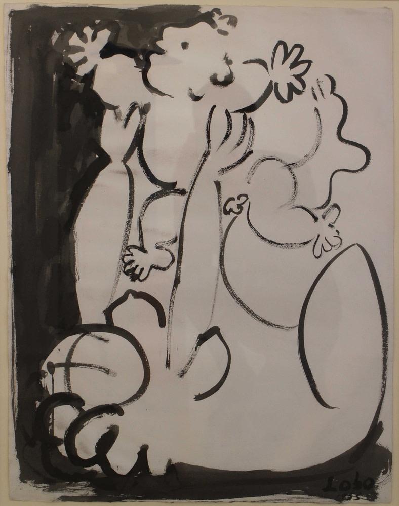 Baltasar Lobo, Mere et enfant, 1953