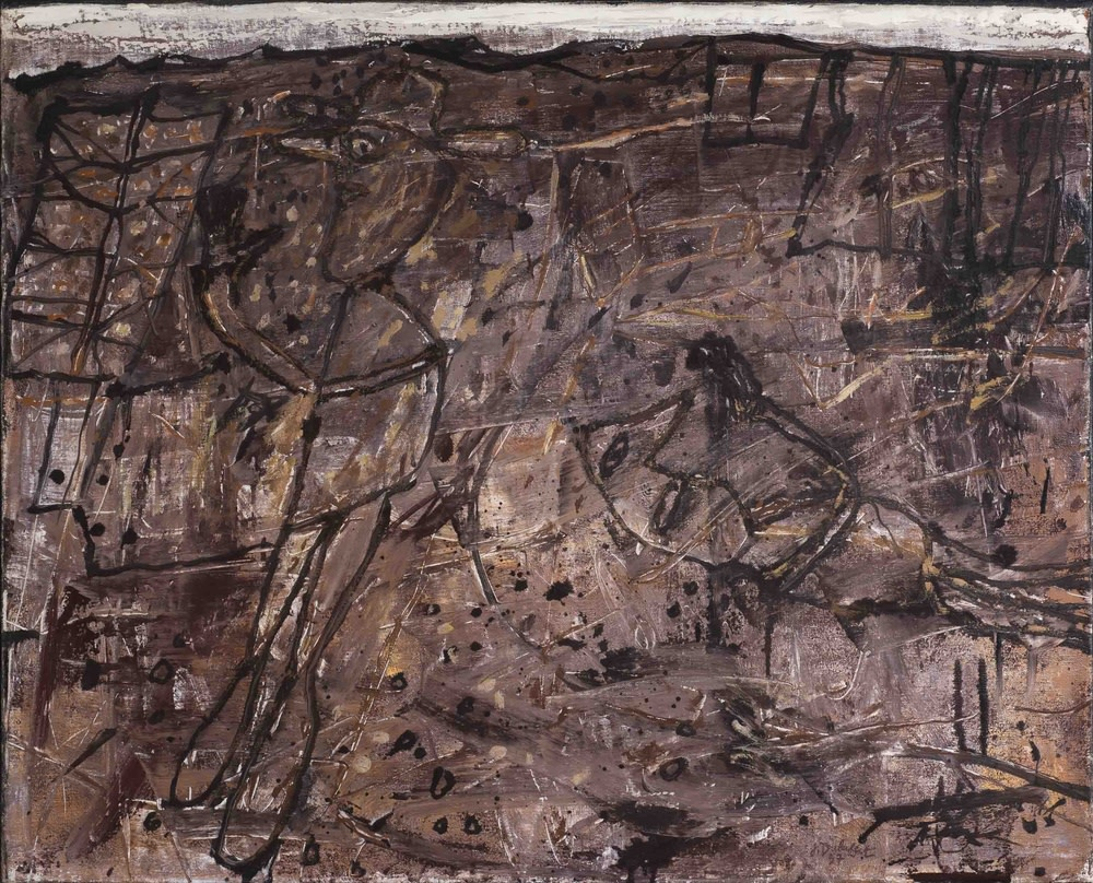 Jean Dubuffet, Paysage Desoriente, 1957