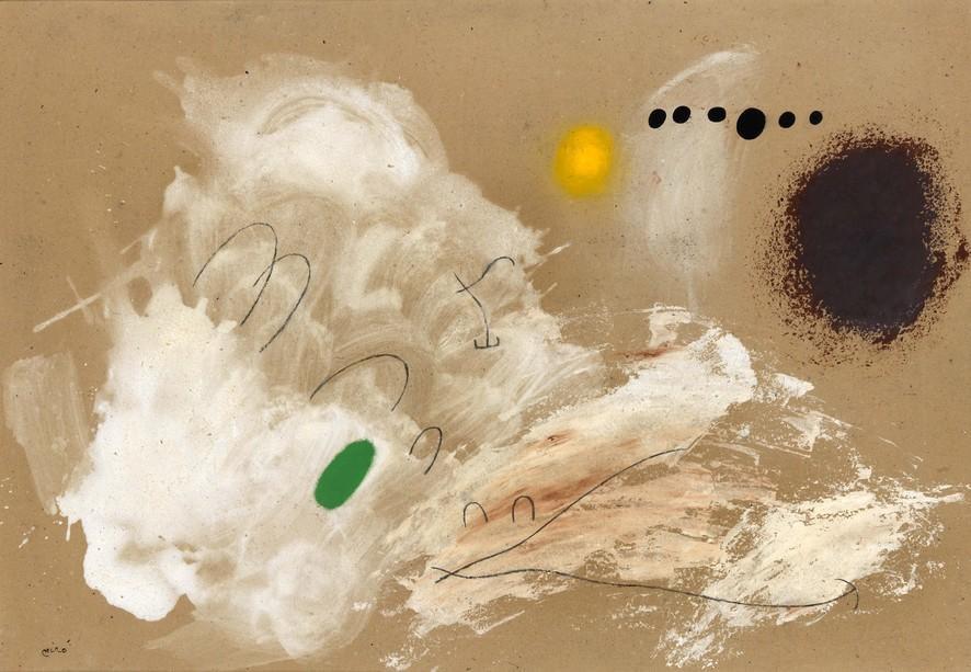 Joan Miró, Solitude III/III, 1960