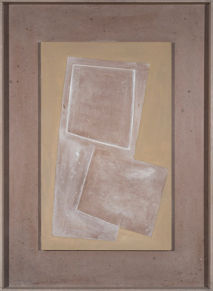 Ben Nicholson, 1971 (Two squares and very green), 1971