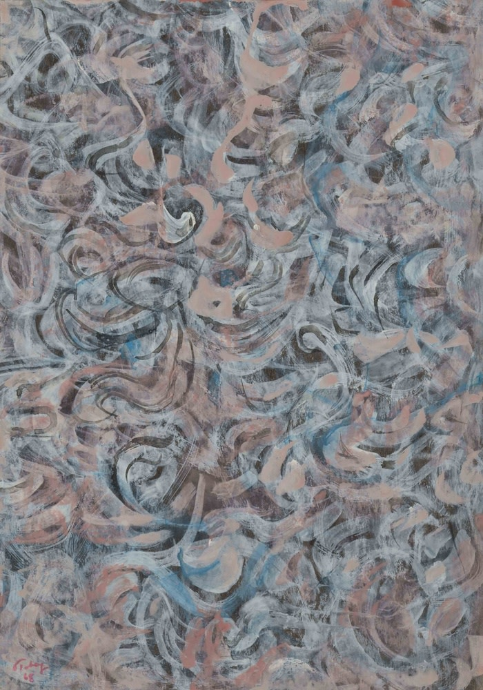 Mark Tobey, Meanders, 1968