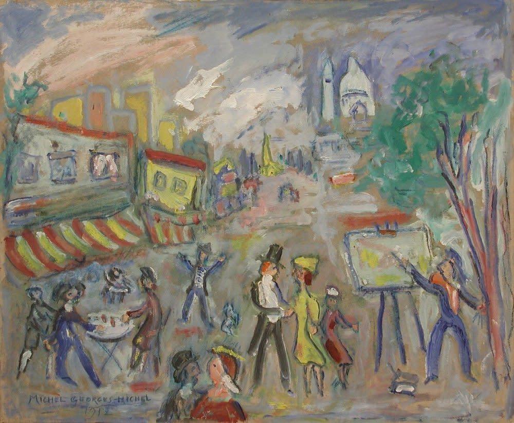 Michel Georges-Michel, Artistes à Montmartre