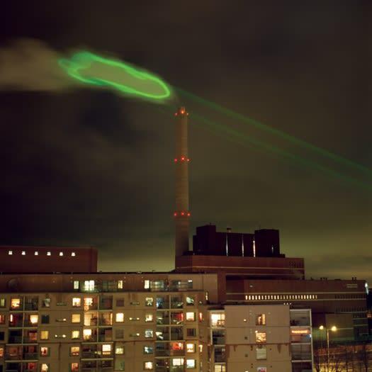 HEHE, Nuage vert, Helsinki, 2008