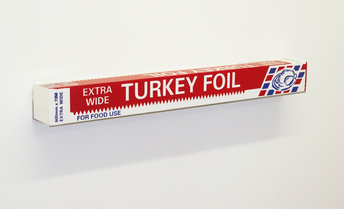 Gavin TURK, Turkey Foil Box, 2007