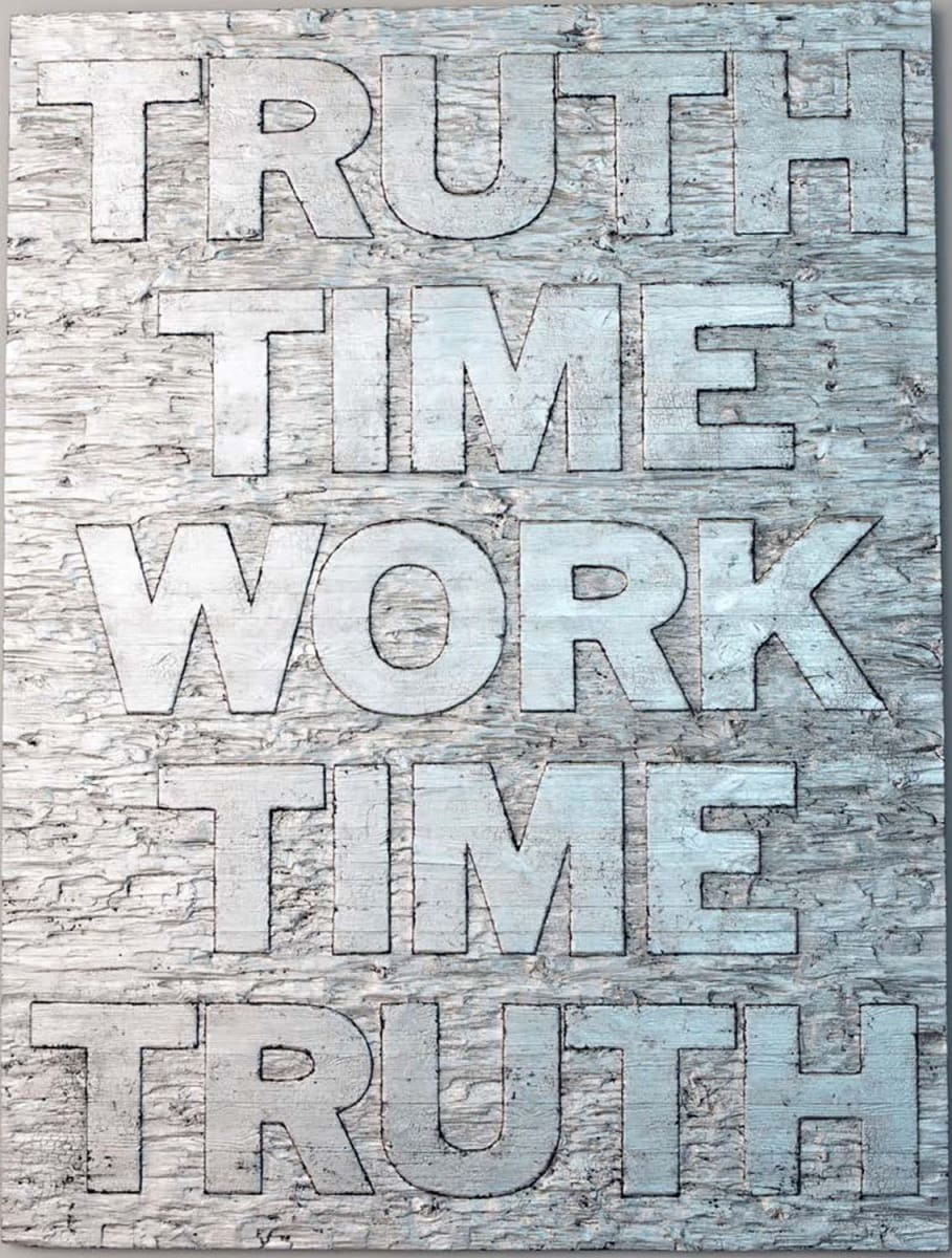 Mark TITCHNER, TRUTH TIME WORK TIME TRUTH, 2014